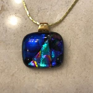Jewelry - ⭐️SALE⭐️ Colorful stone pendant necklace